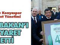 Torku Basket Yönetim Kurulu Başbakan'ı ziyaret etti