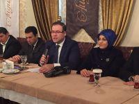 AK Parti Meram'ın yeni yönetimi basınla buluştu