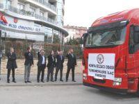 Konya'dan Türkmenlere ilaç yardımı