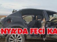 Konya'da feci kaza: 3 YARALI