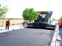 Meram'da asfalt kaplama çalışmaları