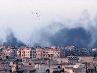 Halep yanıyor