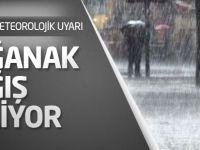 Meteorolojik Meteorolojik Uyarı: Sağanak Yağış geliyor
