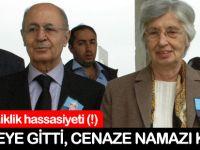 Ahmet Necdet Sezer cenazeye katıldı, cenaze namazı kılmadı