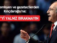 Akademisyen ve gazetecilerden Kılıçdaroğlu'na: HDP'yi yalnız bırakmayın