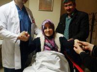 Omurgasındaki eğrilik ameliyatla düzeltildi