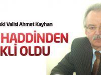 Konya Eski Valisi Ahmet Kayhan Emekli Oldu