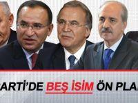 AK Parti'de bu isimler öne çıkıyor!
