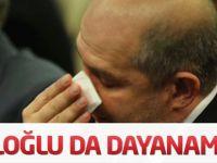 Baloğlu da Davutoğlu'nun ardından ağladı