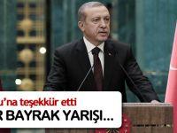 Cumhurbaşkanı Erdoğan: Davutoğlu'na teşekkür ediyorum