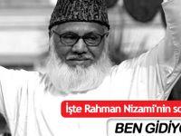 İşte Rahman Nizami'nin son mektubu: Ben Gidiyorum...
