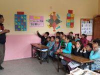 Kulu'da öğrencilere trafik eğitimi