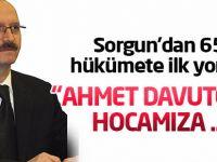 Ahmet Sorgun'dan 65. hükümet yorumu