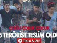 Nusaybin'de 25 terörist teslim oldu VİDEO