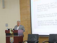 Prof. Dr. Şeker, konferansa katıldı
