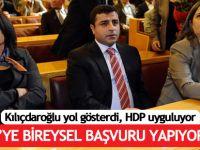 HDP'li vekiller AYM'ye bireysel başvuru yapacak