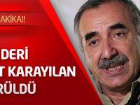 PKK Lideri Murat karayılan öldürüldü