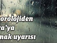 Meteoroloji'den Konya'ya  Dolu Uyarısı