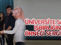 Üniversite Sanayi işbirliğinin örneği sergilendi