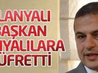 Alanyalı Başkan Konyalılara küfretti