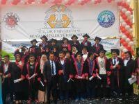 Huğlu MYO'da mezuniyet sevinci