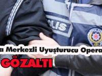 Konya Merkezli Uyuşturucu Operasyonu: 12 gözaltı