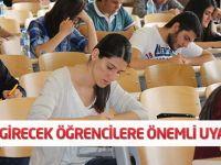LYS'ye girecek öğrencilere aşırı kaygı uyarısı
