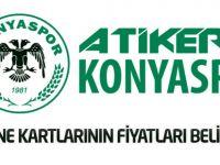 Atiker Konyaspor'da kombine kartlarının fiyatları belirlendi