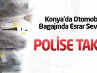 Otomobilin Bagajında Esrar Sevkıyatı Polise Takıldı