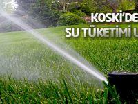 KOSKİ'den su tüketimi uyarısı