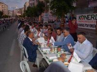 Ereğli'de mahalle iftarları devam ediyor
