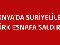 Konya'da Suriyeliler Türk esnafa saldırdı
