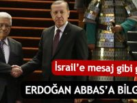 Cumhurbaşkanı Erdoğan, Filistin lideri Abbas'la görüştü