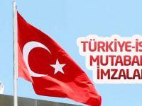 Türkiye-İsrail mutabakatı imzalandı