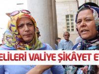Suriyelileri valiye şikâyet ettiler