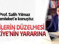 Salih Yılmaz:Türkiye strateji değiştirdi