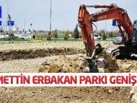 Necmettin Erbakan Parkı Genişliyor