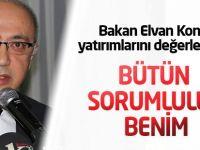 Kalkınma Bakanı Elvan:Bütün sorumluluk benim