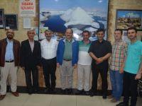 Karapınar'da gazetecilere plaket