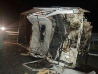 Konya'da feci kaza: 1 Ağır 4 yaralı