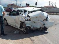 Sakarya'da trafik kazası: 2'si çocuk 5 yaralı