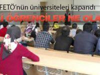 FETÖ'nün okulları kapandı: Öğrenciler ne olacak?