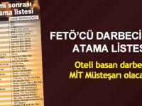 İşte FETÖ/PDY'ci darbecilerin hazırladığı TSK atama listesi