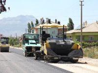 Seydişehir'de asfalt çalışması