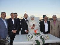 Şule ile Ali evlendi