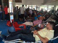 Kulu'lu vatandaşlardan kan bağışına yoğun ilgi