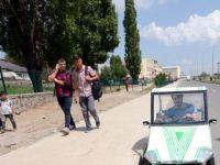 Karslı Mucit, Ot Biçme Makinesi Motoruyla Araba Yaptı