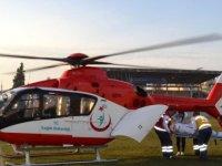Trabzon'da, Helikopter Ambulansla 25 Hasta Taşındı