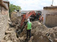 Yunak'ta 6 mahalleye 157 kilometre kanalizasyon şebekesi