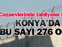 Cezaevlerinde tahliyeler başladı! Peki Konya'da kaç kişi tahliye oldu